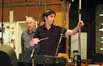 Patrick Doyle and conductor James Shearman