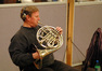 Jim Thatcher plays French horn on <i>Nim's Island</i>