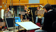 Harry Gregson-Williams conducts the brass section
