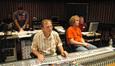 Composer Christopher Lennertz, scoring mixer Jeff Vaughn, and stage engineer Charlie Pakaari