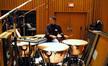 Wade Culbreath plays timpani