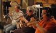 Jon Lewis, Malcolm McNabb and Rick Baptist on trumpets
