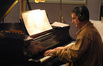 Robert Thies plays piano on <i>Space Chimps</i>