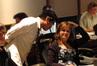 Director Ryan Shiraki talks with composer Deborah Lurie