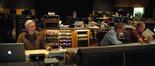 Orchestrator Brad Dechter, stage tech Tom Steel, and scoring mixer Shawn Murphy