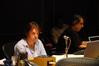 Orchestrator John Ashton Thomas and music editor Nic Ratner