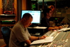 Scoring mixer Shawn Murphy and stage recordist Tom Hardisty