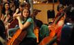 Cellist Jen Kuhn talks with Armen Ksajikian