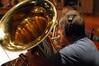 John Van Houten on Tuba