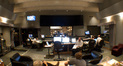 The control room at Sony