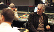 Producer Gary Ross gives feedback