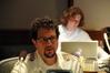 Composer Michael Giacchino scored <i>Turning Point: Fall of Liberty</i>