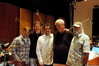 Spark Unlimited Executive Producer Scott Langteau, Spark Unlimited CEO Craig Allen, composer Michael Giacchino, conductor/orchestrator Tim Simonec and scoring mixer Dan Wallin