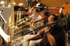 Trombonists Phil Teele and Steve Holtman