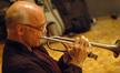 Tim Morrison plays trumpet