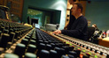 Scoring mixer Casey Stone busy at work