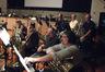 Charlie Morillas, Alan Kaplan, Alex Iles on trombone; Fred Greene on tuba; Marissa Benedict, John Lewis and Jim Grinta on trumpets