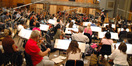 The Hollywood Studio Symphony performs on <i>A Christmas Carol</i>