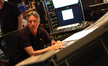 Alan Silvestri listens to a cue playback