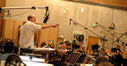 William Ross conducts his arrangement of the end title song to <i>A Christmas Carol</i>
