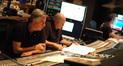 Composer Alan Silvestri and scoring mixer Dennis Sands