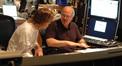 Lyricist Glen Ballard and scoring mixer Dennis Sands