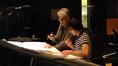 Orchestrator Steve Bartek talks with composer Stephen Trask