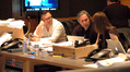 Additional music composer Lior Rosner, director Paul Weitz and music editor Amanda Goodpaster discuss the score
