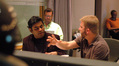 A.R. Rahman, agent Amos Newman and director Peter Billingsly