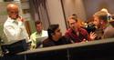Supervising music editor Jim Weidman, agent Amos Newman, composer A.R. Rahman, orchestrator Kaz Boyle and director Peter Billingsly