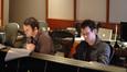 Orchestrator Brandon Roberts and scoring mixer Steve Kaplan
