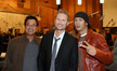 Director James Wong, composer Brian Tyler and actor Joon Park