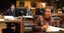 Score preparation supervisor Gary Krause, ProTools recordist Vinnie Cirilli and scoring mixer Bobby Fernandez