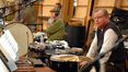 Percussionists Mike Fisher and Don Williams