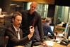 Composer Brian Tyler and music editor Joe Lisanti