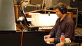 Bryan Pezzone plays the piano