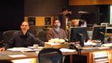 Music editors Joe Lisanti and Gary Kraus, and ProTools recordist Larry Mah