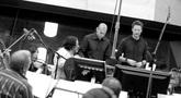 Orchestrator Robert Elhai, music editor Joe Lisanti and composer Brian Tyler