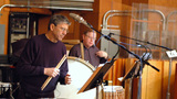 Percussionists Bob Zimmitti and Don Williams