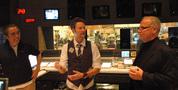 Scoring mixer Joe Lisanti, composer Brian Tyler and orchestrator Brad Warnaar