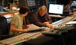 Orchestrator Abe Libbos and scoring mixer Steve Kempster