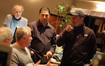 John Debney talks with director Peter Chelsom