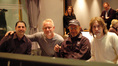 Disney music exec. Mitchell Leib, composer John Debney, director Peter Chelsom, and songwriter Glen Ballard
