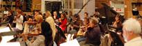 The Hollywood Studio Symphony performs on <i>Hannah Montana: The Movie</i>