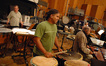 Don Williams on timpani, Walter Rodriguez on drums, and Emil Richards on vibes