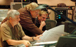 Orchestrator Dave Metzger, scoring mixer Steve Kempster and composer Mark Mancina