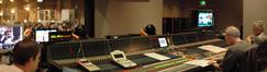 Stage recordist Adam Michalak, scoring mixer Dennis Sands and orchestrator Jerry Hey