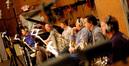 French horn players Steve Becknell, Mark Adams, Rick Todd, David Duke, Brian O'Connor, James Thatcher (Lead)
