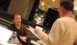 Trevor Rabin talks with choir conductor Marshall Bowen