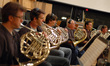 Paul Klintworth, Steve Becknell, Richard Todd, David Duke, Brian O'Connor and Jim Thatcher on French horn